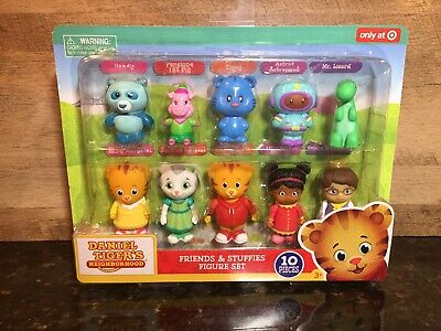 Daniel Tiger's Neighborhood Friends And Stuffies Figure Set Target Exclusive!