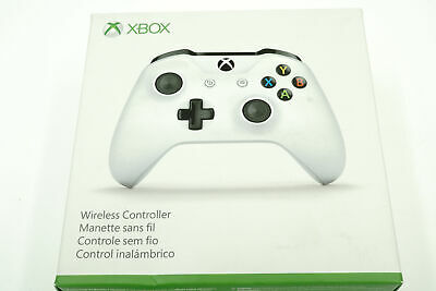 Microsoft  Xbox One Wireless Controller Bluetooth -White Model 1708