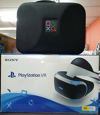 PlayStation VR for PS4 PSVR Bundle Complete With Headset, Camera, & All Parts