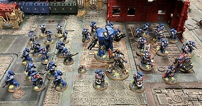 Ultramarines Army - Well Painted - Space Marines - Forgeworld - 40k - Warhammer