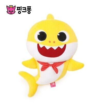 Pinkfong BABY SHARK Official Singing Plush Sound Doll Korean Song 2019 Design
