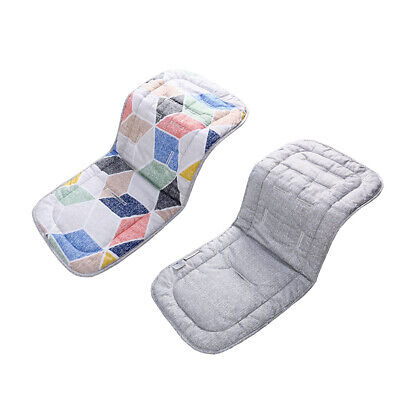 Pram Stroller Buggy Liner Insert Soft Universal Car Seat Pad Baby Kids Washable