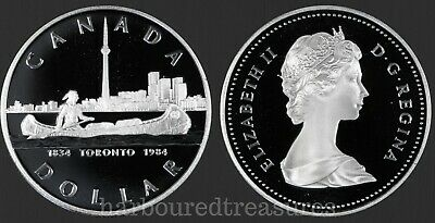 1984 Canada Silver Dollar Proof Toronto Commemorative