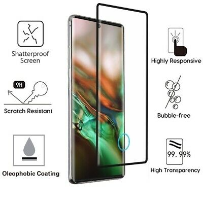Samsung Galaxy Note 10 /+ Full Adhesive Coverage Tempered Glass Screen Protector