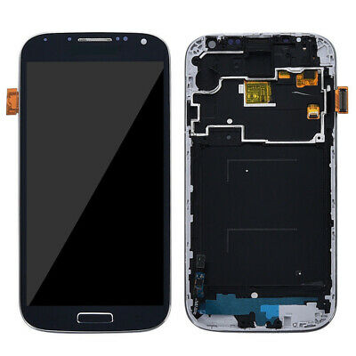 LCD Screen Touchs Digitizer with Frame for Samsung Galaxy S4 i337 i9500 i9505 Fa