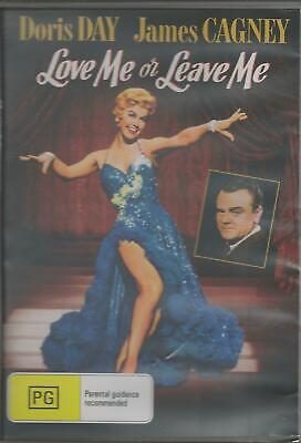 Love Me Or Leave Me Doris Day & James Cagney New All Region Dvd