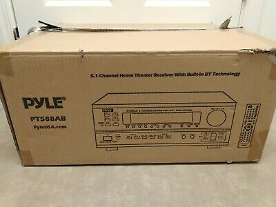 Pyle PT588AB 5.1 Channel Home Theater AV Receiver