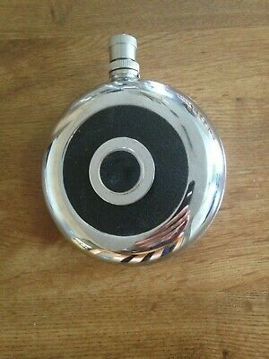 Vintage Stainless Steel Round Flask