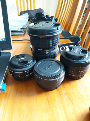 Canon  EOS Lens Package