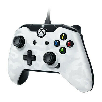 Manette filaire PDP Afterglow Camo Blanc V2 pour Xbox One