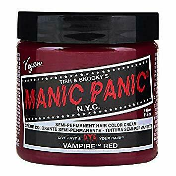 Manic Panic High Voltage Vampire Red Classic Hair Color 118ml