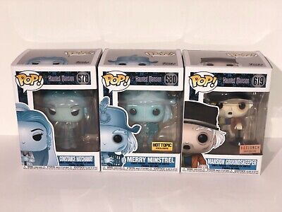 Funko Pop! Haunted Mansion Character Choices