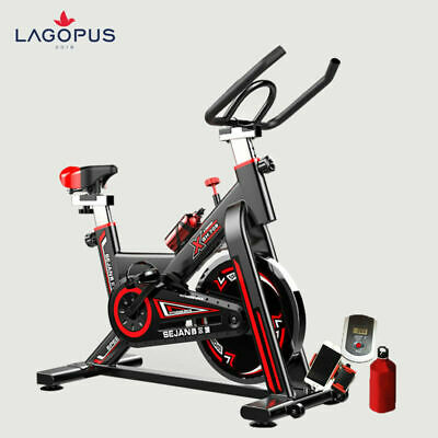 Workout Machine Gym Exercise Fitness Bike Trainer Home Stationary Black
