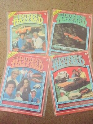 Dukes Of Hazzard Colouring Books 1981 💯 LAST SET 📚 MINT UNUSED HARD TO FIND