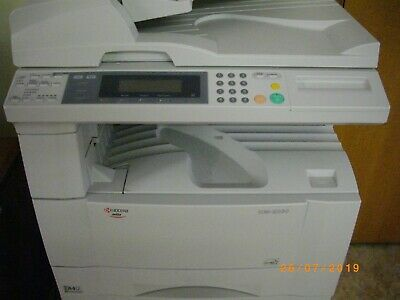 Kyocera Km 2030 Copier + Cabinet + Two New Cartridges