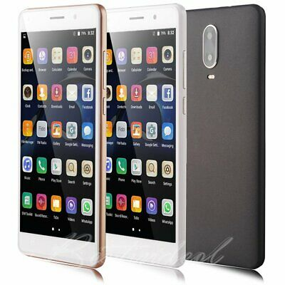 """Quad Core Dual Sim GSM AT&T SmartPhone Android 5.1 Factory Unlocked 5.5"""" 3G Wifi"""