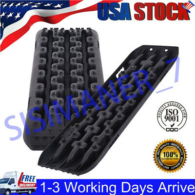 Sand Tracks Recovery Traction 4WD Snow Track Tire Ladder Black Off Road