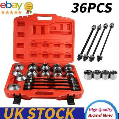 36pcs Car Universal Bush Bearing Removal Insertion Tools Press Pull Sleeve Kit