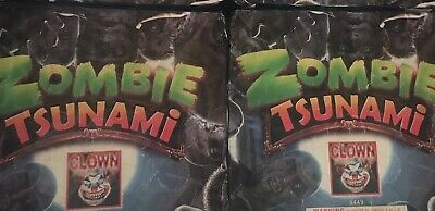 TWO - Zombie Tsunami - Firework Label - Cake Art