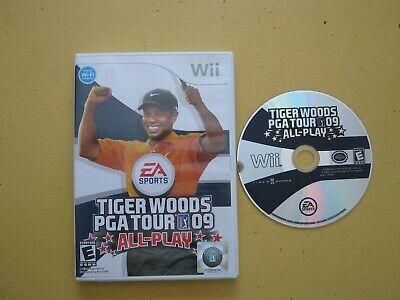 Tiger Woods PGA Tour 09: All-Play (Nintendo Wii, 2008)