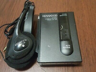 Kenwood Walkman Stereo Cassette Player CP 303,Fully Functioning,Japan