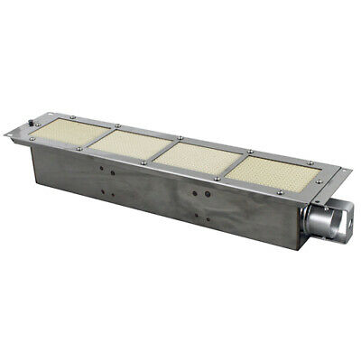 "24 1/8"" x 5 1/8"" Infrared Broiler Burner - No Orifice"
