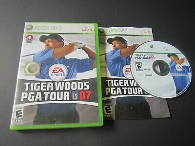 Microsoft Xbox 360: Tiger Woods PGA Tour 07 complete in case & tested