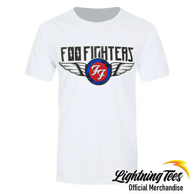 Official Foo Fighters Flash Wings Rock T-Shirt