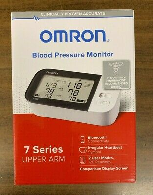 Omron 7 Series Bp7350 Bluetooth Smart Blood Pressure Monitor - New In The Box