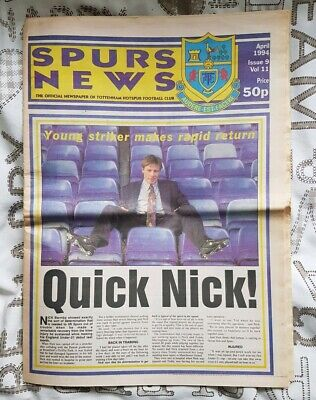 Spurs News Newspaper April 1994 Issue 9 Vol 11 (Some pages missing)