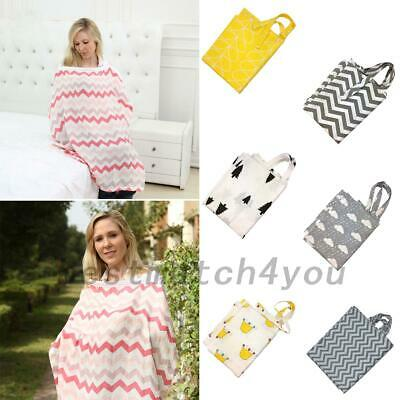 AU Breastfeeding Cover Feeding Baby Nursing Udder Apron Women Mum Shawl Cloth
