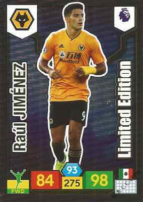 Panini Premier League 2019/20 Limited Edition RAUL JIMENEZ Wolverhampton card