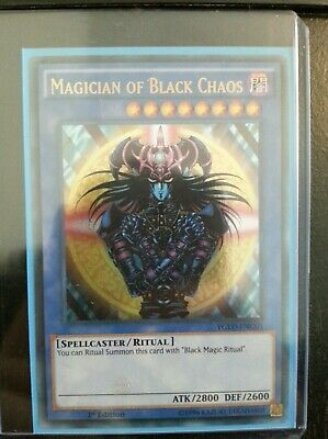 Yugioh Magician Of Black Chaos YGLD-ENC01