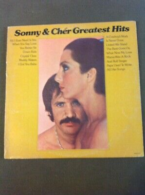 33 RPM LP Record MCA Records 2117 Sonny And Cher Greatest Hits