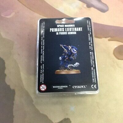 40K Warhammer Space Marines Primaris Lieutenant in Phobos Armor IN STOCK