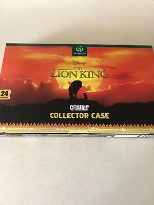 Lion King Ooshies Full Set With Collectors Case