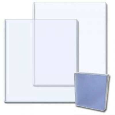(25) 8X10 PHOTO PICTURE IMAGE or PRINT CLEAR PLASTIC HARD RIGID TOPLOADERS