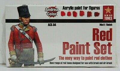 Andrea Color Red Paint Set - New / Sealed
