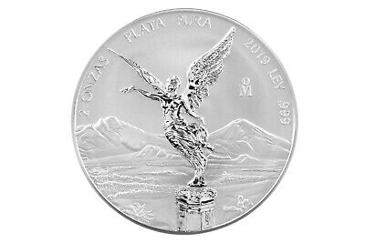 2019 2oz Silver Libertad Reverse Proof - With FREE extra 2oz Capsule