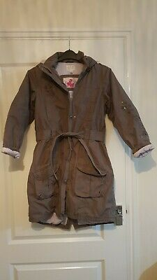 Girls 11-12 Thick Next Parka Coat Winter