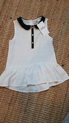 BNWT Girls Marks And Spencer Blouse Top 7-8 Years