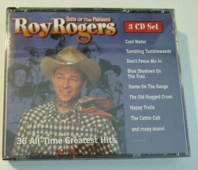 ROY ROGERS Sons of the Pioneers 36 All Time Greatest Hits 1998 3 CD Anthology