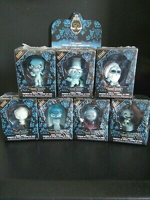Funko The Haunted Mansion Mystery Minis Hot Topic Exclusive Complete Set w/ Case