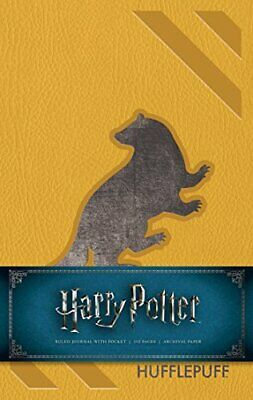 Insight Editions - Harry Potter Hufflepuff Hardcover Ruled Journal