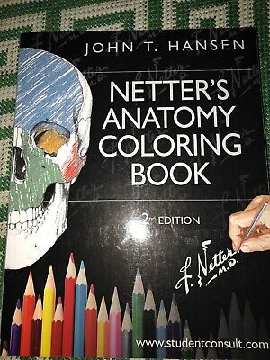 NETTER\'S ANATOMY COLORING Book: with Student Consult Access ...