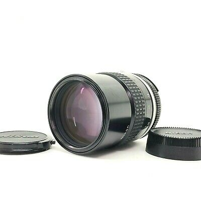 【EXC++++】Nikon AI NIKKOR 135mm f/2.8 Telephoto MF Lens From Japan #652