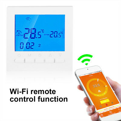 LCD Smart WiFi Wireless Digitale Cronotermostato Termostato Programmabile