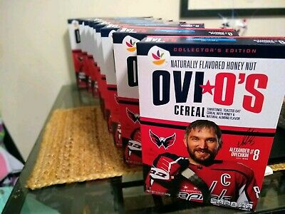 Ovi O's Alexander Ovechkin #8 Honey Nut Flavored Cereal-Limited Edition