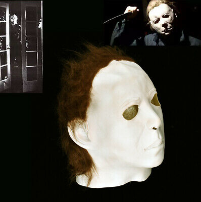 Michael Myers 1978 Halloween Latex Mask Cosplay Trick or Treat Scary Film US