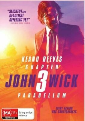 John Wick 3 : Parabellum : Australian Stock : NEW DVD : 2019: Wednesday SPECIAL